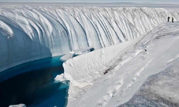 antarctic Ice Canyon